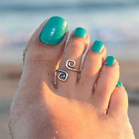 Classic Design -  Toe Ring
