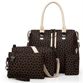 4 Pcs Pattern Bag Set