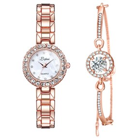 Luxurious Watch and Bracelet Set